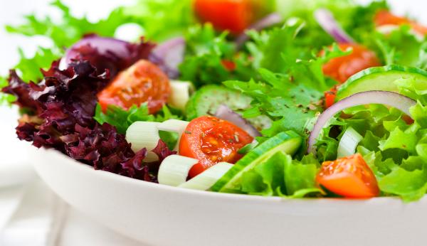 Erros na hora de preparar a salada